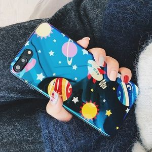 Accessories - ❤️NEW iPhone X/XS/7/8/Plus Glossy Universe case